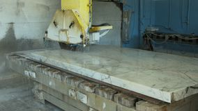Marble Cutting stock video