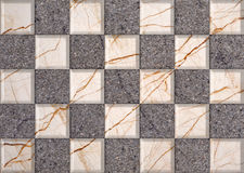 Marble decor tiles Royalty Free Stock Image