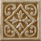 Marble decorated background tiles, mosaic Royalty Free Stock Images