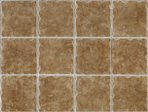 Marble decorated background tiles travertine Royalty Free Stock Images