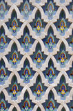 Marble design Hassan II Mosque,Casablanca royalty free stock image