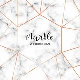 Marble design template for invitation, banners, greeting card, etc. Minimalist texture wallpaper. royalty free illustration