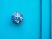 Marble door knob Stock Image