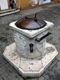 Marble Drinking Fountain, Venice Royalty Free Stock Photos