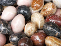 Marble eggs Stock Photography
