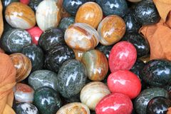 Marble eggs Royalty Free Stock Photography