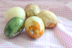 Marble Eggs Royalty Free Stock Photo