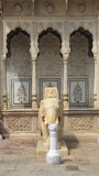 Marble Elephant In Jaipur. Stock Photography