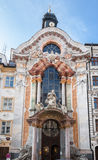 Marble Facade Munich Germany Stock Photos