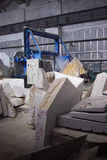 Marble factory. Summer educational practice in Khakasia Stock Photos