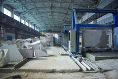 Marble factory Royalty Free Stock Photos