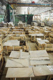 Marble factory Stock Photos