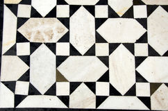Marble floor background in asian temple,India Royalty Free Stock Photo