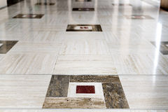 Marble floor Grand Sultan Qaboos Mosque Royalty Free Stock Image