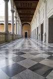 Marble floor, Indoor palace, Alcazar de Toledo, Spain Royalty Free Stock Images
