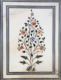 Marble Flower Texture. Stock Image