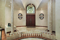 Marble foyer Stock Photography