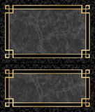 Marble Frames Stock Photo