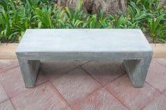 Marble Garden Bench Stock Image