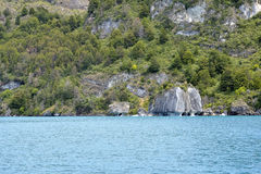 Marble in General Carrera Lake Stock Photography