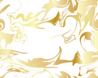 Marble Gold texture seamless pattern Stock Photo