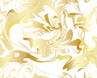 Marble Gold texture seamless pattern Stock Images