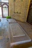 Marble graves in Shiraz vertical Stock Photos