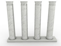 Marble Greek columns #3 Royalty Free Stock Images