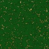 Marble green-tone texture with gold royalty free stock images