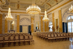Marble hall Royalty Free Stock Image