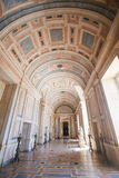 Marble hallway in Mafra Palace, Portugal Stock Photos