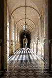 Marble hallway at Palace of Versailles near Paris, France Stock Photos