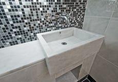 Marble hand wash basin Stock Photos