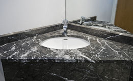 Marble hand wash basin Stock Images