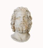 Marble head statuette Royalty Free Stock Photo