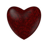 Marble heart Royalty Free Stock Photography