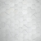 Marble Hexagon Background Stock Image