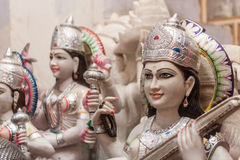 Marble Hindu Gods Stock Photos