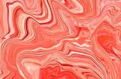Marble ink colorful. Multicolor marble pattern of the blend of curves. Marble ink colorful. Multi color marble pattern of the blend of curves. Abstract pattern Stock Photo