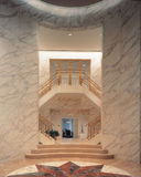 Marble interior Stock Photography