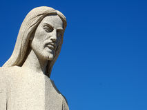 Marble Jesus. Marble Statue of Jesus Christ Royalty Free Stock Photo