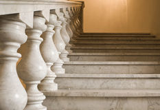 Marble ladder on a empire style Royalty Free Stock Image