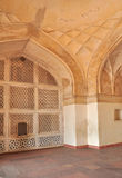 Marble Lattice and Arches at Emperor Akbar's Tomb Royalty Free Stock Photography