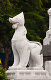 Marble leo statue Royalty Free Stock Image