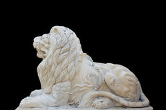 Marble lion Stock Photos