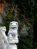 Marble Lion, Taroko, Taiwan Royalty Free Stock Photography