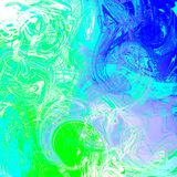 Liquid abstract background with oil painting streaks. Marble and liquid abstract background with oil painting streaks stock photos