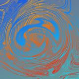 Marble liquid abstract background with oil painting streaks royalty free illustration