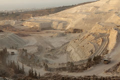 Marble mine, Lebanon Royalty Free Stock Photos