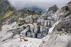 Marble mine Stock Image